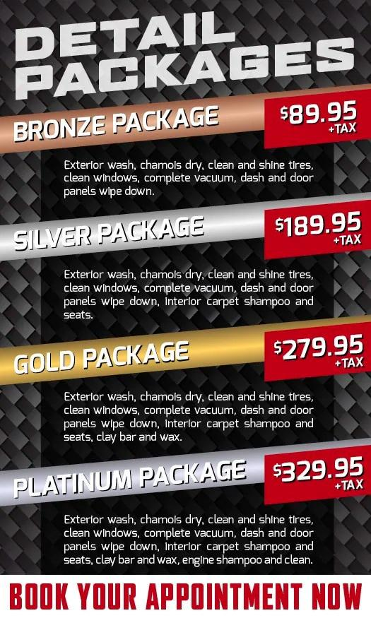 Detail packages at Northland Hyundai