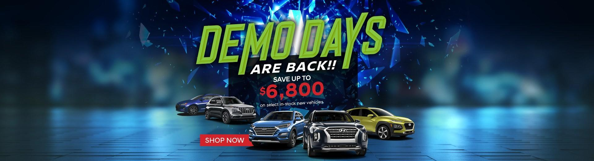 Demo Days at Northland Hyundai