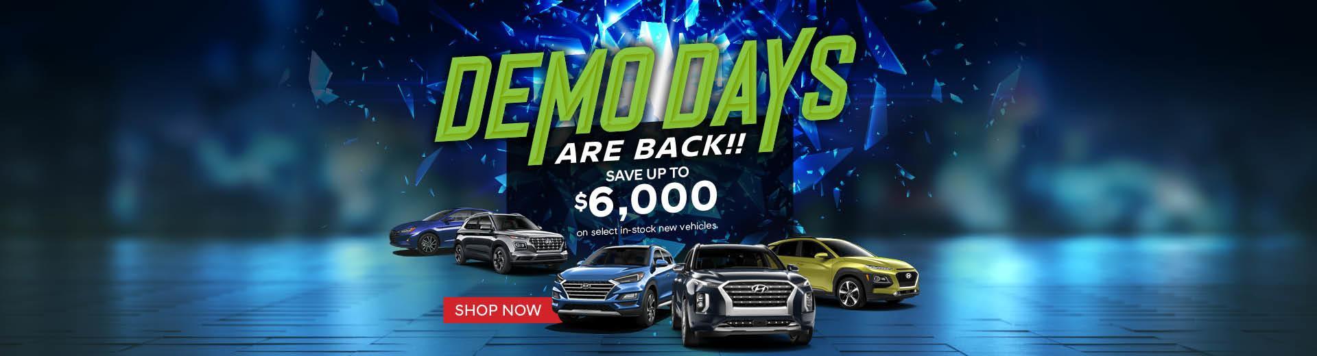 Demo Days at Northland Hyundai