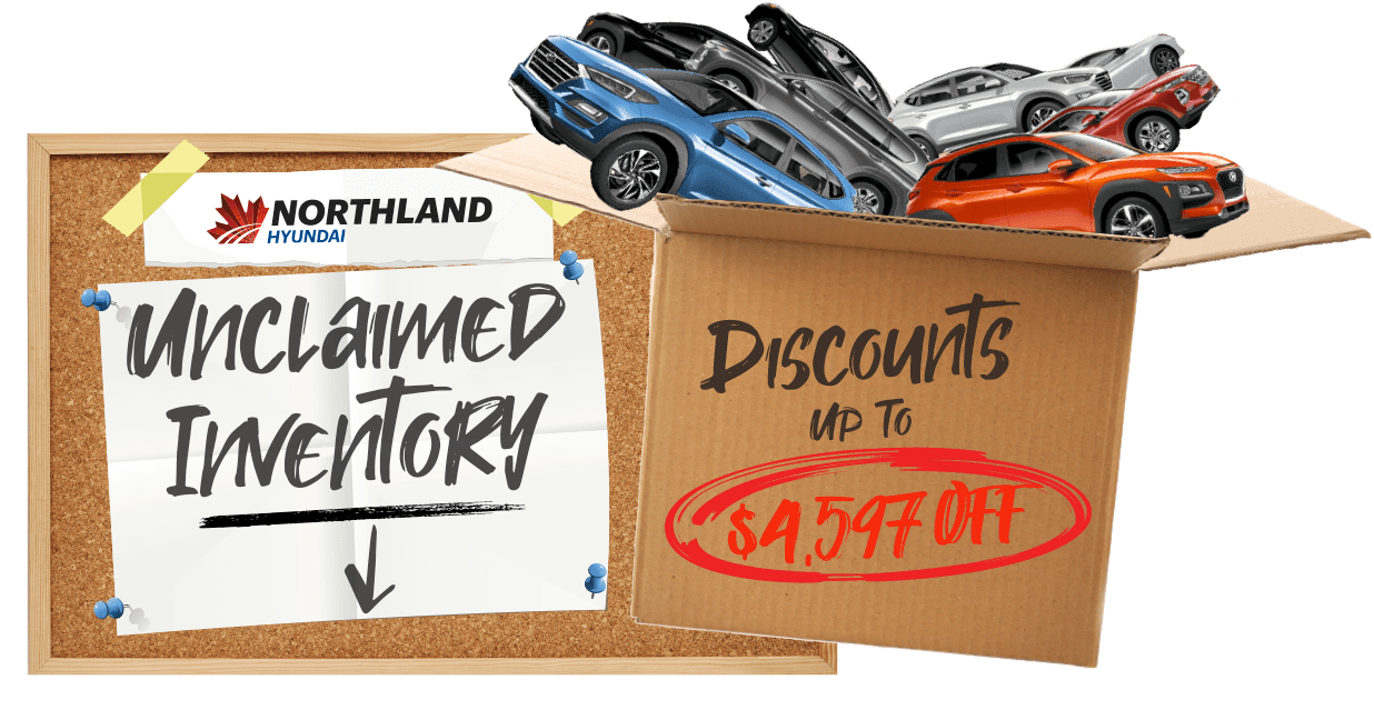 Unclaimed Inventory Clearout Northland Hyundai in 2021 Highway 16 West